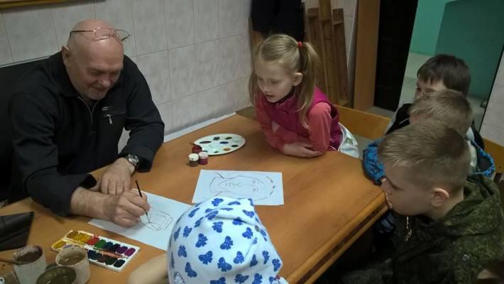 мастер-класс В.Кобзаря